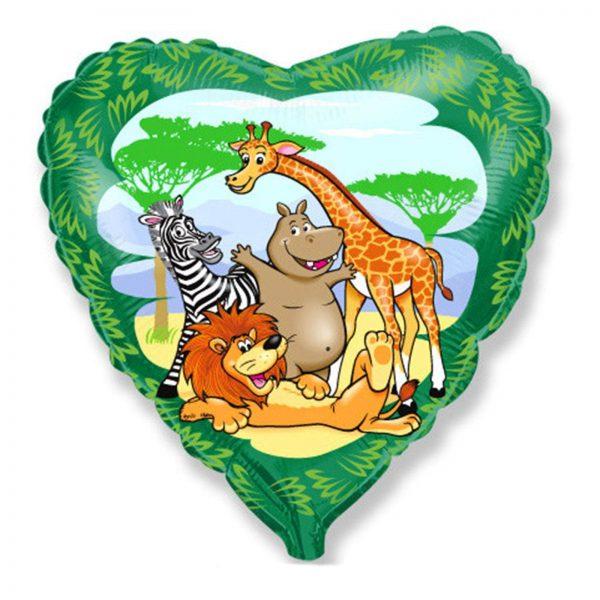Сердце Друзья в джунглях
