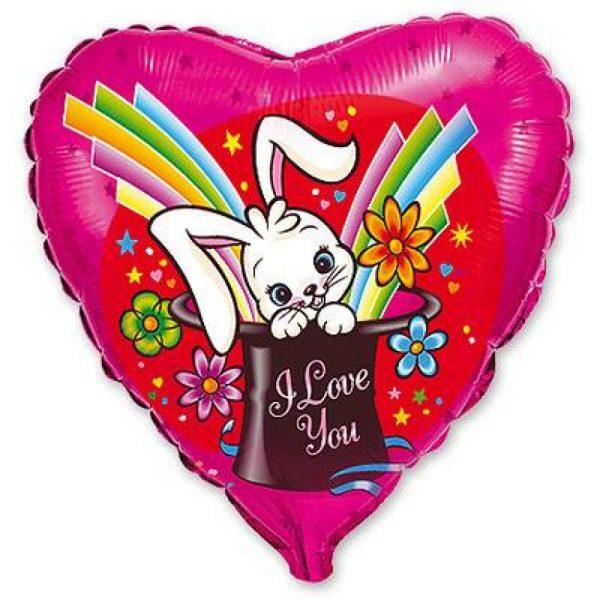 Сердце Волшебный кролик