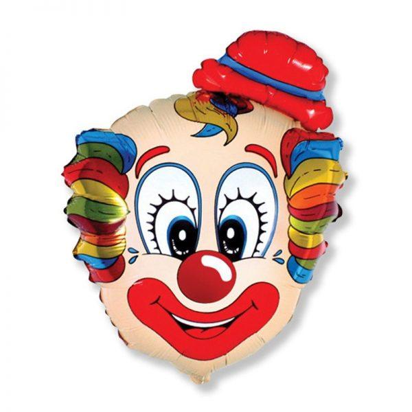 Клоун в шляпе
