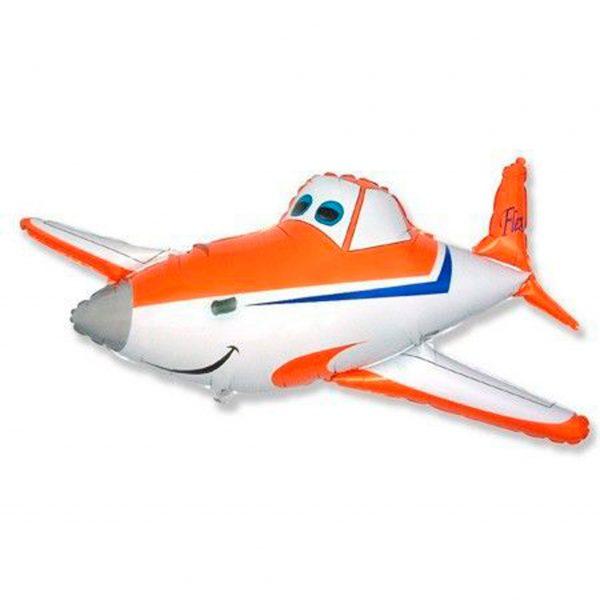 Самолет гоночный оранжевый