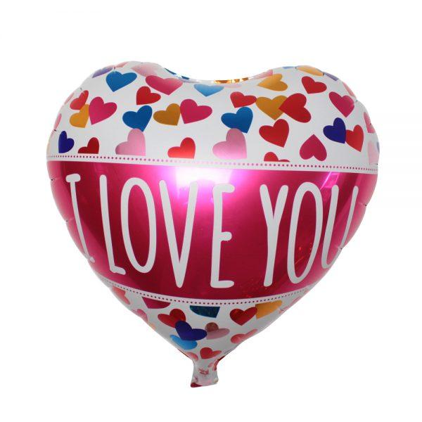 Сердце I Love you много сердец